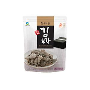 Laver Chili Pepper Korean Traditional Crispy Snacks 4ea Set Healthy Food