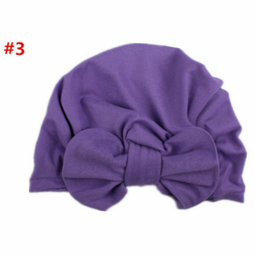 Baby Toddler Girls Kids Bunny Bow Knot Turban Headband Hair Band Headwrap Sweet