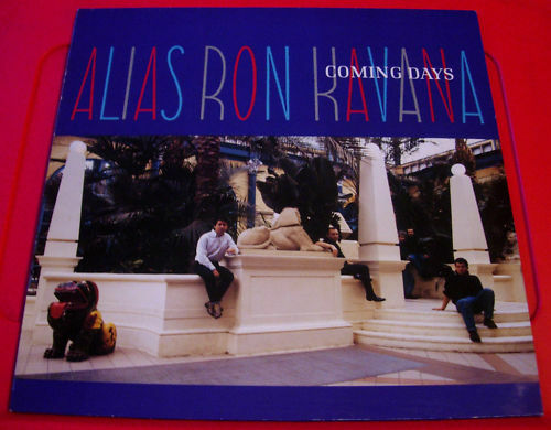Alias Ron Kavana Coming Days LP UK ORIG+Lyric Inner 1991 Chiswick WIKAD 94 VINYL