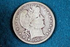 ESTATE FIND 1907-O BARBER HALF DOLLAR!! #G2181
