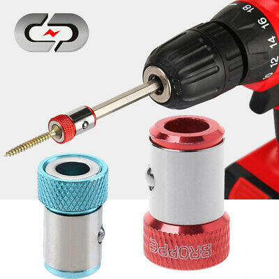 Magnetic Ring Strong Magnetizer Screwdriver Electric Hex Bits Head Lock Screw US
