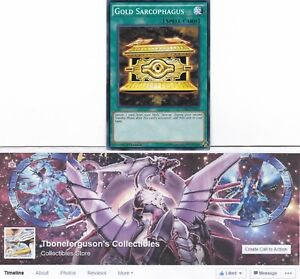 Yu-Gi-Oh Gold Sarcophagus 1st Edition LDK2-ENY22