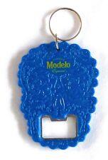 "Modelo Day of the Dead Keychain Bottle Opener Dia de los Muertos 3"" x 2.25"" NEW"