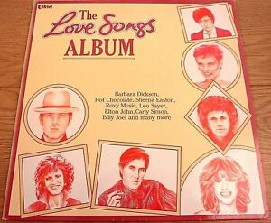 The-Love-Songs-Album-UK-1980s-LP-Vinyl-Record-Original-Pressing