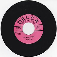 HI-FIVES - HOW CAN I WIN - GROUP HARMONY - ON DECCA