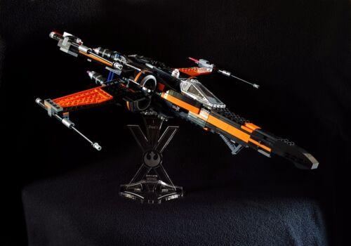 Présentoir incliné pour lego 75102 Poe/'s x-wing Fighter Star Wars