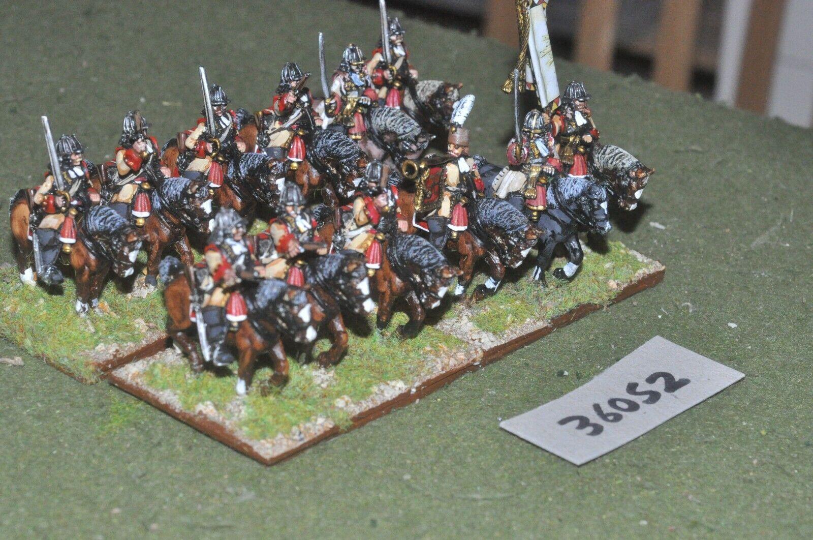 25mm marlburian   austrian - heavy 12 figures - cav (36052)