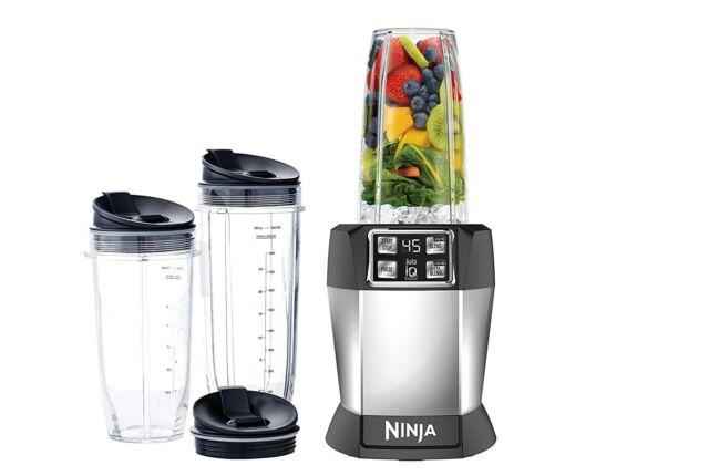 Nutri Ninja Auto-iQ Blender, BL482, NEW!