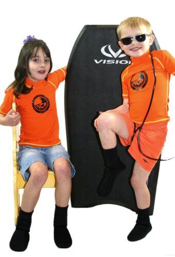 SPF UV50 Kids Short Sleeve Rash Vest Strong flatlock stitch Age 13-14  years