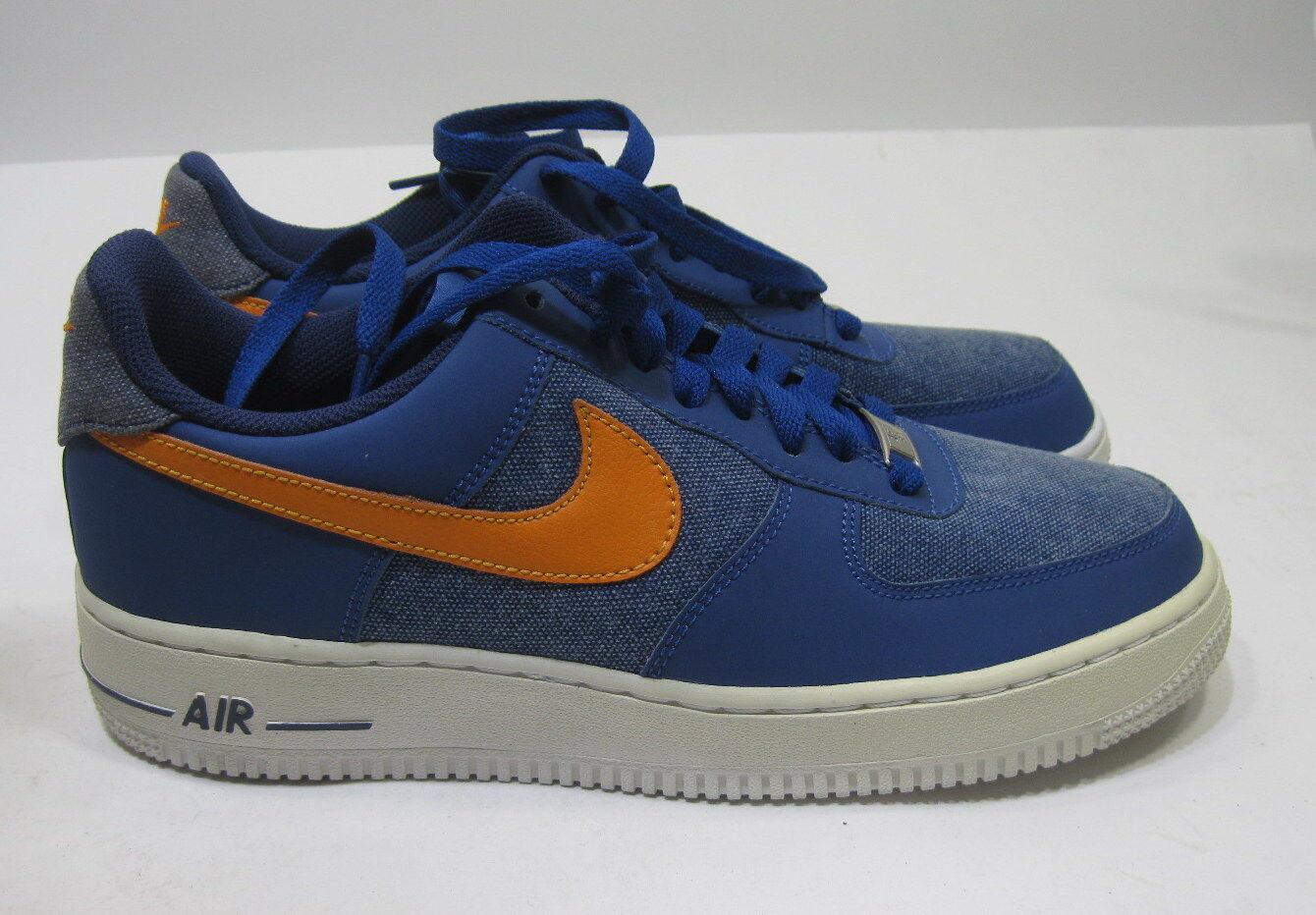 neue nike air force 1 488298-404 storm blau blühende orange 488298-404 1 größe 8 84f38c