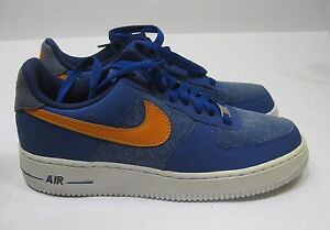 reputable site 21b97 02a0a Image is loading new-Nike-Air-Force-1-Storm-Blue-Vivid-