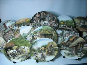 Choose-ONE-OR-MORE-Plates-OLD-COUNTRY-CRAFTS-Plate-1-10-2-15-3-20-Susan-Neale