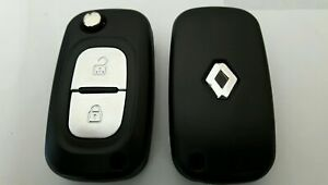 COQUE-CLE-P-CLEF-TELECOMMANDE-2-BOUTONS-POUR-RENAULT-CLIO-3-Modus-Twingo2