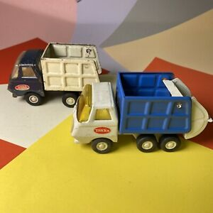 VINTAGE-COLLECTABLE-TONKA-TOY-REFUSES-WAGON-LORRY-BIN-WAGON-LORRY-1970-s