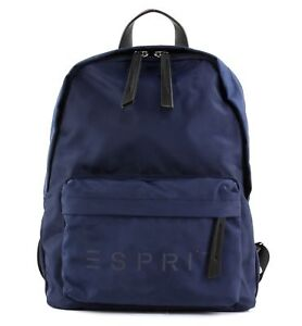 Rucksäcke Esprit F_cleo Backpack Rucksack Tasche Navy Blau Neu Angenehm Bis Zum Gaumen Reisekoffer & -taschen