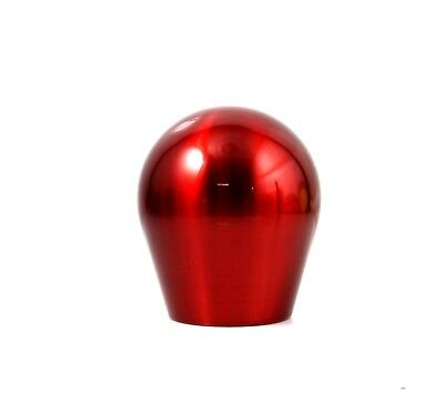 SSCO SD 700 GRAMS WRINKLE RED TEAR DROP SHIFT KNOB 12x1.25mm WRX STI WEIGHTED