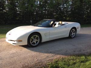 2002 Corvette Convertible, Safetied, low k's