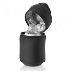 Tommee-Tippee-1x-Bag-Closer-to-Insulated-Thermal-Bottle-Baby-Feeding-BLACK