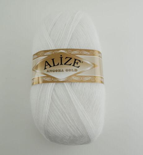 ALIZE Wolle Angora Gold Türkische Wolle 100g fantastische Wolle Mohair