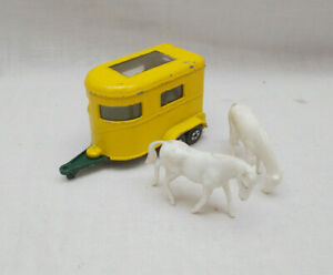Vintage Matchbox Superfast No 43 Pony Trailer - Made In England By Lesney Lot C