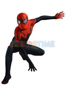 Superior Spider-Man Costume Spandex Halloween Cosplay Spiderman Zentai Suit