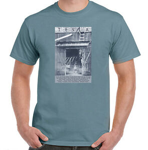 Nikola Tesla Quote on Being an Inventor, Mens, Ladies, Youth Styles, NWT