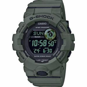 Casio-G-Shock-GBD-800UC-3ER-Verde-Militare-Waterproof-Novita-Military-Bluetooth