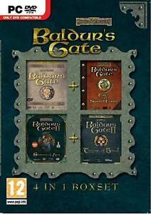 Baldur-039-s-Gate-4-in-1-Collection-SWORD-COAST-Throne-of-Bhaal-4-PC-Games