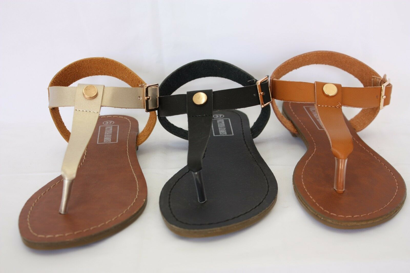 New KATE Thong Women Sandals Shoes Gladiator Thong KATE Flops T Strap Flip Flat Strappy a8308e