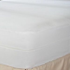 Hypoallergenic-Waterproof-Ultra-Soft-BedBug-Zipper-Mattress-Cover-Protector