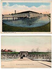 2 Early - Mid 1900's Postcards - FORT MONROE -  Old Point Comfort, VA - Hampton