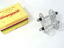 Campagnolo Track Hub Set Nuovo Super Record 36H W Lockring <C> NOS vintage Pista