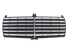 86-93 Mercedes Benz W201 190E 190D S600 Style Black Grille Grill w/ Chrome Trims