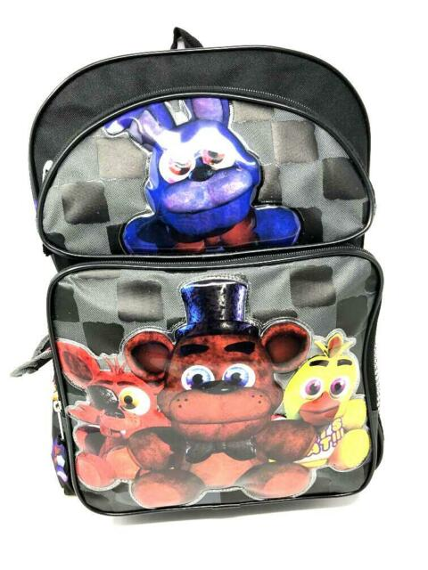 Five Nights At Freddys Lunch kit Bag box Bonnie Chica Ruz