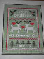 Reindeer Sampler By Dimensions Net Darning Lace