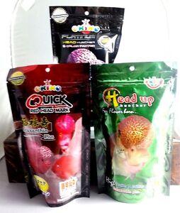 Adaptable Haute Qualité Okiko Fish Food For Head Up Flowerhorn Couleur Tous Les Types De Cichlidés-afficher Le Titre D'origine