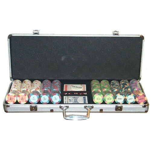 Set completo 500 Fiches Real Clay Euro