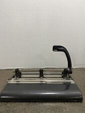 Vintage Master Products Three Hole Punch With Lever Model 3 25 Industrial Usa