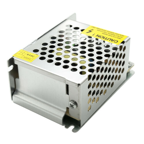 Alimentatore stabilizzato da 220V a 12V trasformatore 36W 3A luci striscia LED