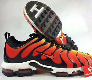 cbaf74f90d 13 NIKE AIR MAX PLUS TN ULTRA Black Team Orange/Yellow 898015-004 95 ...