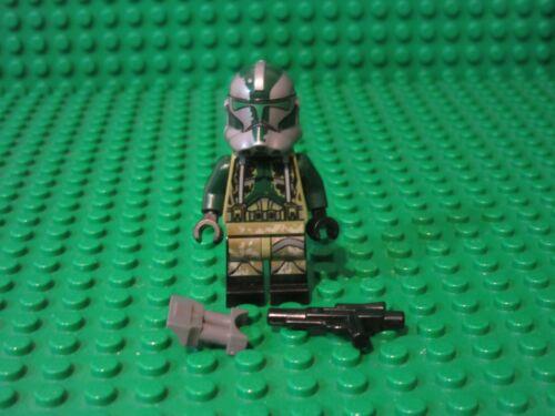 Lego Star Wars Minifigure Clone Commander Gree w//blaster 75151 750043