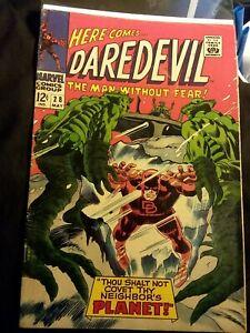 Daredevil-28-VF-Condition-Marvel-Comics-1964-Series