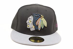 Image is loading Chicago-Blackhawks-Black-Gray-Burgundy-Yellow-NHL-New- de4eb12b9866