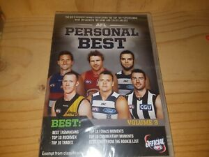 New-Sealed-AFL-Personal-Best-Volume-3-DVD