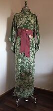 Originaler Japanischer Seiden Kimono Vintage