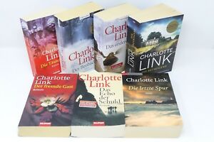 CHARLOTTE-LINK-Beobachter-Taeuschung-Betrogene-Gast-Echo-letzte-Spur-7x-Buch