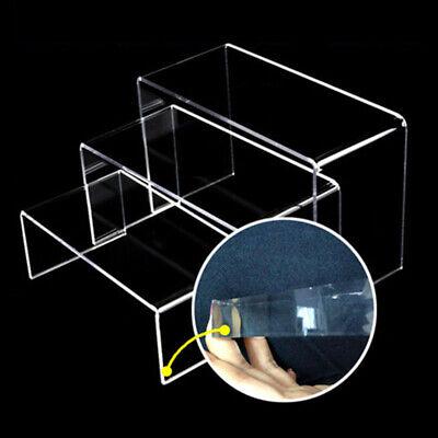 Présentoir acrylique de gradation en 3 étapes pour figurines jouets Amiibo