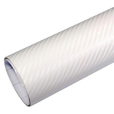 weiss matt weiss 30 x 152 cm 3D flexibel Klebefolie Dekor Folie 4,5/€//m/² Auto Folie