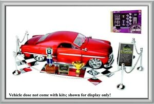 Hobby Gear Phoenix Car Show Accessories Diorama Set NIB - Car show display accessories