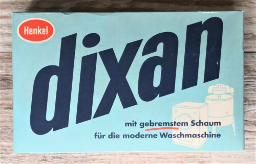 Original Packung dixan von Henkel 600 gr **Rarität top Zustand**